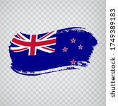 new zealand flag isolated....