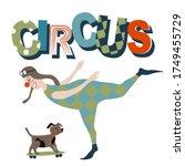 The Circus Concept. A Clown...