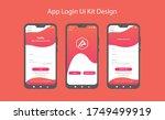 app sign in log in screen  ui...