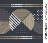 polka dots seamless pattern.... | Shutterstock .eps vector #1749532859