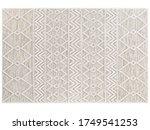 Scandinavian Wool Dot Carpet....