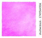 fuchsia pink color square... | Shutterstock . vector #1749564506