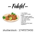 traditional dish of jewish... | Shutterstock .eps vector #1749575450