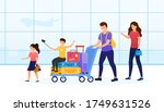 young attractive family going... | Shutterstock .eps vector #1749631526
