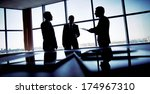 shady image of a manager... | Shutterstock . vector #174967310