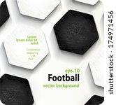 football  soccer  vector... | Shutterstock .eps vector #174971456