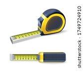 3d vector realistic measurement ... | Shutterstock .eps vector #1749724910