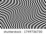 black and white distorted... | Shutterstock .eps vector #1749736730