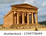 Greek Temple Of Concordia In...