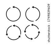 vector illustration of circle...   Shutterstock .eps vector #1749839609