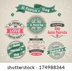 set of calligraphic elements... | Shutterstock .eps vector #174988364