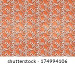 seamless white abstract pattern ... | Shutterstock . vector #174994106