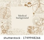 medical background with... | Shutterstock .eps vector #1749948266