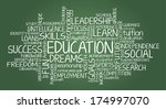 education related tag cloud | Shutterstock .eps vector #174997070