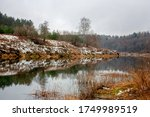 View Of The Valley River On A...