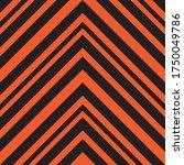 orange chevron diagonal striped ... | Shutterstock .eps vector #1750049786