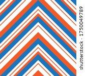 orange chevron diagonal striped ... | Shutterstock .eps vector #1750049789