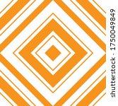orange argyle diagonal striped... | Shutterstock .eps vector #1750049849