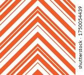 orange chevron diagonal striped ... | Shutterstock .eps vector #1750054439