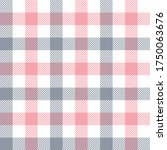 Gingham Check Pattern In Grey ...