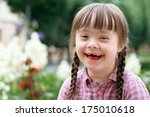 portrait of beautiful young... | Shutterstock . vector #175010618