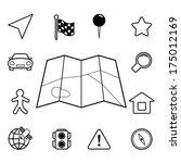 navigation iconset  contour...