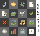 online shopping website iconset ...