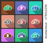 cloud ui layout icons  squared...
