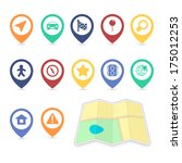 location ui design elements ...