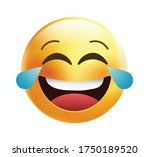 high quality emoticon on white... | Shutterstock .eps vector #1750189520