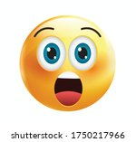 high quality emoticon isolated... | Shutterstock .eps vector #1750217966