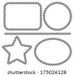 rope frame | Shutterstock . vector #175026128