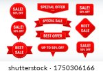 sale banner and label discount... | Shutterstock .eps vector #1750306166
