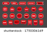 collection of sales label and... | Shutterstock .eps vector #1750306169