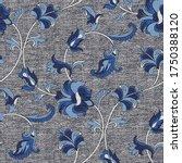 seamless oriental ethnic... | Shutterstock .eps vector #1750388120