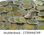 Thai Baht  Ten Baht Per Coins ...