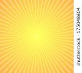 stylish starburst background... | Shutterstock .eps vector #175048604