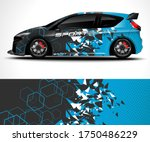 abstract background for racing...   Shutterstock .eps vector #1750486229