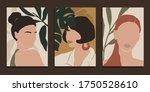 modern art prints in boho style....   Shutterstock .eps vector #1750528610