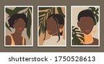modern art prints in boho style.... | Shutterstock .eps vector #1750528613