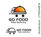 modern go food fast delivery...   Shutterstock .eps vector #1750544876