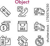 object set. included shopping...