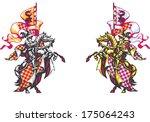 raster version of vector ... | Shutterstock . vector #175064243