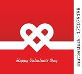 figure for st. valentine's day... | Shutterstock .eps vector #175079198