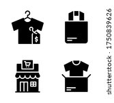 sales icon set   shirt price...
