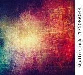 abstract grunge texture... | Shutterstock . vector #175086044