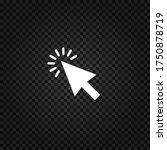 cursor icon.mouse cursor vector....   Shutterstock .eps vector #1750878719