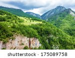 mountain natural landscape ... | Shutterstock . vector #175089758