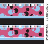 geometric pattern pink black...   Shutterstock .eps vector #1750928579