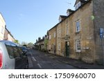 English Country Town On A Sunn...